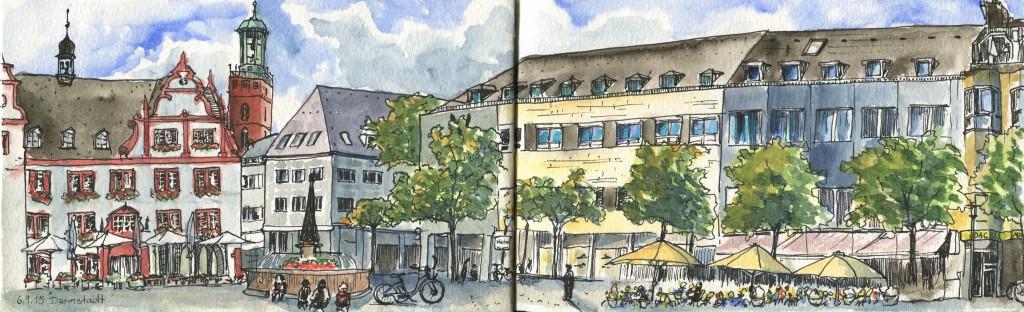 Darmstadt-Marktplatz