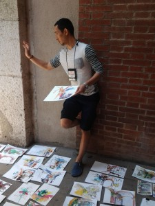 Paul Wang, Workshop-Leiter in Barcelona