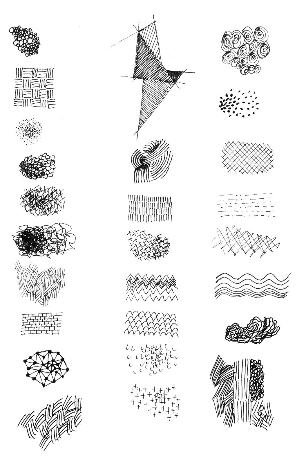Schraffieren mit Formen