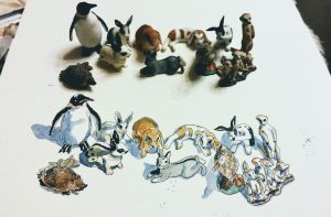 Every Day in May Schleich Tiere