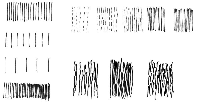 Schraffieren mit Linien