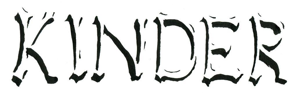 Erhabene Schriften durch Abbildung des Schattens dargestellt